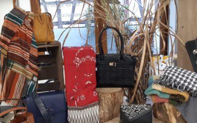 Découvrez notre sélection d'accessoires pour l'automne, directement au salon.