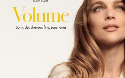 Nouvelle gamme volume pour les cheveux fins et fragiles